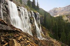Free Seven Veils Falls, Lake O Hara, Yoho National Park, Canada Stock Images - 37124734