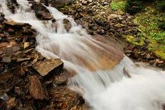 Seven Veils Falls, Lake O'Hara, Yoho National Park, Canada Stock Photos