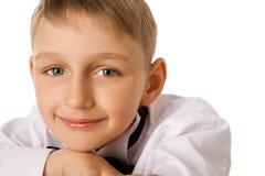 Seven years boy Stock Photos