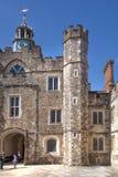 Sevenoaks老英国豪宅15世纪 经典英国乡下房子 图库摄影
