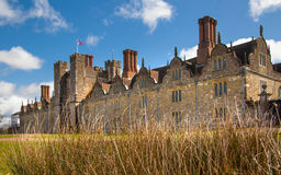 Sevenoaks老英国豪宅15世纪 经典英国国家边房子 库存图片