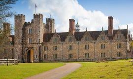 Sevenoaks老英国豪宅15世纪 经典英国国家边房子 免版税图库摄影