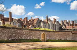 Sevenoaks  Old english mansion 15th century. Classic english country side house. UK Royalty Free Stock Photos