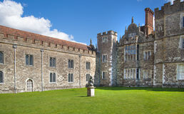 Sevenoaks Old english mansion 15th century. Classic english countryside house Royalty Free Stock Photo