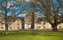 Sevenoaks Old english mansion 15th century. Classic english countryside house Royalty Free Stock Photo