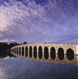 Seventeen-Arch Bridge stock images