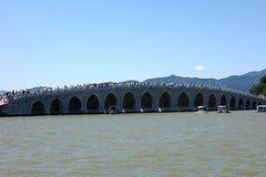 Seventeen Arch Bridge Royalty Free Stock Photo