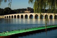 Seventeen Arches Bridge Stock Images
