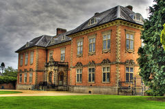 Seventeenth century stately home Tredegar House. An HDR image of the seventeenth century stately home Tredegar House which is a first class example of a red stock photos