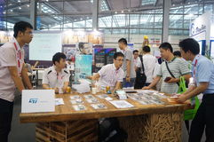 The seventeenth China International Optoelectronic Expo, held in Shenzhen Convention and Exhibition Center Stock Photography