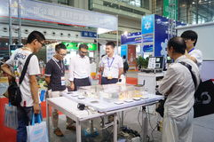 The seventeenth China International Optoelectronic Expo, held in Shenzhen Convention and Exhibition Center Royalty Free Stock Image
