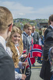 Seventeenth of may, norway's national day. Norwegian Constitution Day is the National Day of Norway and is an official national holiday observed on May 17 each Royalty Free Stock Photography