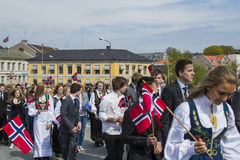 Seventeenth of may, norway's national day. Norwegian Constitution Day is the National Day of Norway and is an official national holiday observed on May 17 each Royalty Free Stock Photos