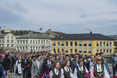 Seventeenth of may, norway's national day Stock Image