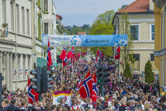 Seventeenth of may, norway's national day. Norwegian Constitution Day is the National Day of Norway and is an official national holiday observed on May 17 each Stock Image