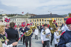 Seventeenth of may, norway's national day. Norwegian Constitution Day is the National Day of Norway and is an official national holiday observed on May 17 each Stock Photography