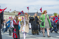 Seventeenth of may, norway's national day Royalty Free Stock Images