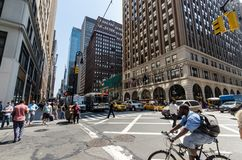 Seventh avenue Royalty Free Stock Photo