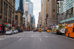 Seventh Avenue New York City Royalty Free Stock Photography