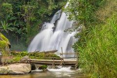 Seventh floor of Pa Dok Seaw waterfall Royalty Free Stock Photo