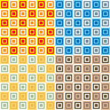 Seventies squares multi Royalty Free Stock Image