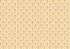 Seventies wallpaper. Seamless pattern based on cheap wallpaper from the 1970's Royalty Free Stock Image