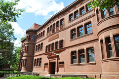 Sever Hall in Harvard Yard, Harvard University Stock Image