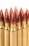 Several ammo for the automatic weapons Stock Images