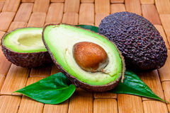 Several avocados Royalty Free Stock Photography