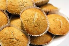 Several banana muffins Stock Photo