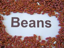 Several beans aspect - to different meals. Beans aspect - to different meals Stock Photography