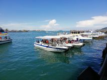 Boat Parking stock photo
