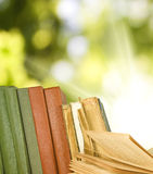 Several books Royalty Free Stock Image