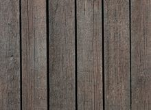 Brown wooden planks. Several brown wooden planks next to each other Stock Photography