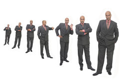 Several businessmen Stock Image