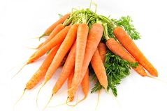 Several carrots Stock Photos
