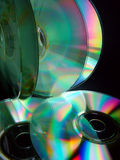 Several CD's Stock Images
