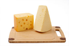 Several cheeses Royalty Free Stock Images