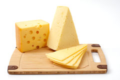 Several cheeses Stock Images