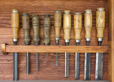 Several chisels Stock Image