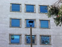 Several windows of one building at UCSD. Several clean windows of one building at UCSD, La Jolla, San Diego, California. Looks great and pretty stock image