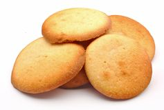 Several cookies Royalty Free Stock Photo