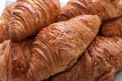 Several crispy croissant Royalty Free Stock Photos