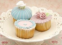 Several cupcakes Royalty Free Stock Image