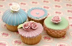 Several cupcakes Stock Photography
