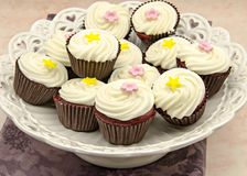 Several cupcakes Royalty Free Stock Images