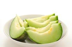 Several cut melon Royalty Free Stock Image