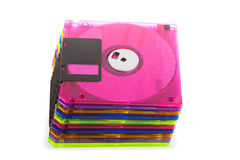 Several diskettes Royalty Free Stock Photography