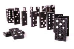 Several dominoes Royalty Free Stock Photo