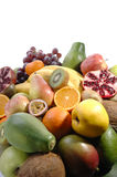 Several fruits Stock Image